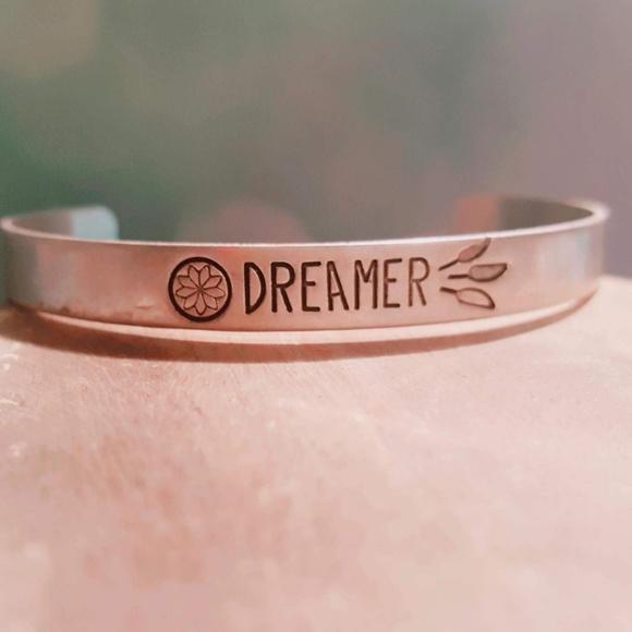 Shop LuLu Jewelry - Dreamer Silver Cuff Bracelet